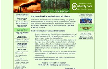 http://www.carbonify.com/carbon-calculator.htm