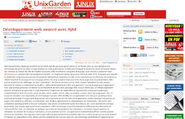 http://www.unixgarden.com/index.php/gnu-linux-magazine/developpement-web-avance-avec-ajax