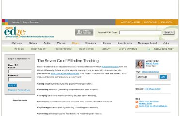 http://edge.ascd.org/_The-Seven-C39s-of-Effective-Teaching/blog/5876315/127586.html