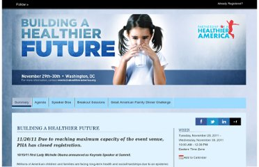 http://www.cvent.com/events/building-a-healthier-future-bringing-together-industry-and-civic-leaders-to-end-childhood-obesity/event-summary-8399766c9463480c937678316e7c1b44.aspx
