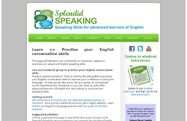 http://www.splendid-speaking.com/learn/english_conversation_skills.html