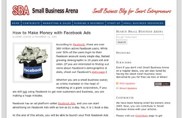 http://www.smallbusinessarena.com/how-to-make-money-with-facebook-ads/