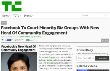 http://techcrunch.com/2012/03/19/susan-gonzales-facebook-head-of-community-engagement/