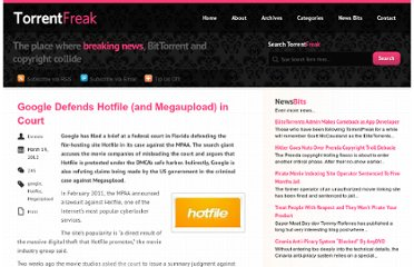 http://torrentfreak.com/google-defends-hotfile-and-megaupload-in-court-120319/