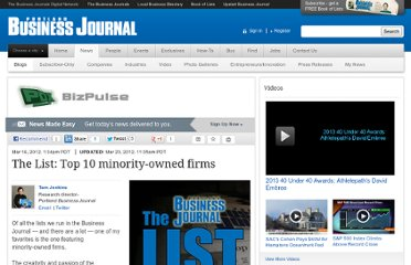 http://www.bizjournals.com/portland/blog/2012/03/the-list-top-10-minority-owned-firms.html
