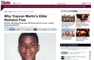 http://www.slate.com/articles/news_and_politics/crime/2012/03/why_george_zimmerman_trayvon_martin_s_killer_hasn_t_been_prosecuted_.html