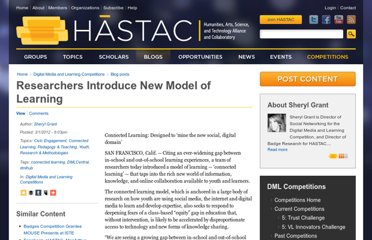 http://hastac.org/blogs/slgrant/2012/03/01/researchers-introduce-new-model-learning