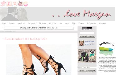 http://www.lovemaegan.com/search/label/Shoe%20DIYs