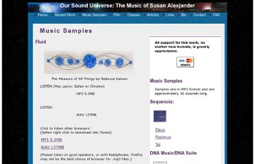 http://www.oursounduniverse.com/music_samples.html