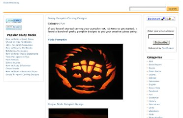 http://studenthacks.org/2007/10/28/pumpkin-carving-designs/
