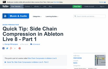 http://audio.tutsplus.com/tutorials/production/quick-tip-side-chain-compression-in-ableton-live-8-part-1/