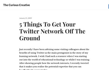 http://edte.ch/blog/2009/01/21/5-things-to-get-your-twitter-network-off-the-ground/