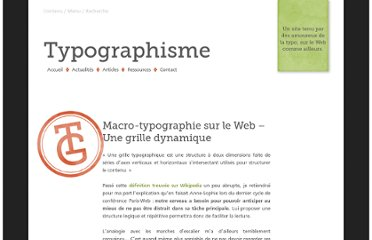 http://typographisme.net/post/Macro-typographie-sur-le-Web-%E2%80%93-Less-is-more