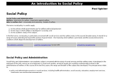 http://www2.rgu.ac.uk/publicpolicy/introduction/socpolf.htm