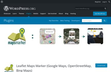http://wordpress.org/extend/plugins/leaflet-maps-marker/