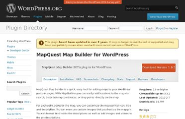 http://wordpress.org/extend/plugins/mapquest-map-builder/