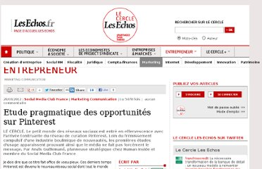 http://lecercle.lesechos.fr/entrepreneur/marketing-communication/221144764/etude-pragmatique-opportunites-pinterest