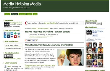 http://www.mediahelpingmedia.org/training-resources/media-management/663-how-to-motivate-journalists-tips-for-editors