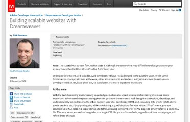 http://www.adobe.com/devnet/dreamweaver/articles/building_scalable_websites.html