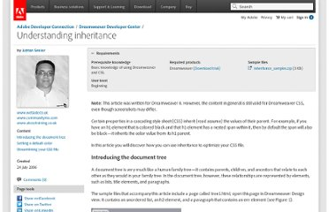 http://www.adobe.com/devnet/dreamweaver/articles/css_inheritance.html