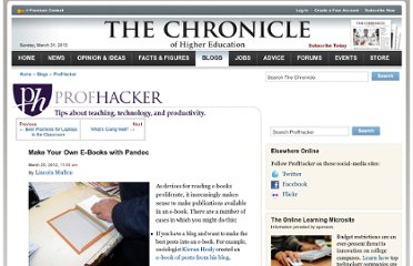 http://chronicle.com/blogs/profhacker/make-your-own-e-books-with-pandoc/39067