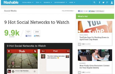 http://mashable.com/2012/03/20/social-networks-to-watch/