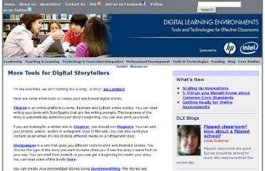 http://www.guide2digitallearning.com/tools_technologies/more_tools_digital_storytellers