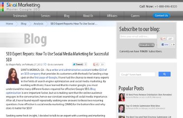 http://www.mastergoogle.com/blog/seo-expert-reports-how-to-use-social-media-marketing-for-successful-seo.php