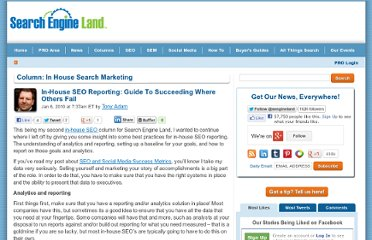 http://searchengineland.com/in-house-seo-reporting-guide-to-succeeding-where-others-fail-32517