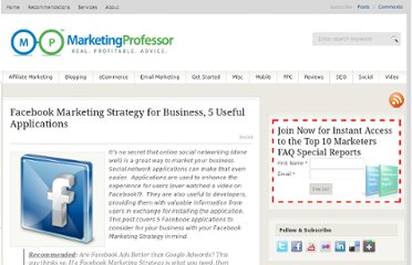 http://www.marketingprofessor.com/social-marketing/facebook-for-business-3-useful-applications/