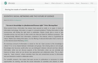 http://access.okfn.org/2012/03/20/scientific-social-networks-are-the-future-of-science/