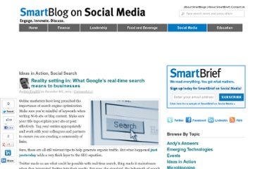 http://smartblogs.com/social-media/2009/12/08/reality-setting-in-what-googles-real-time-search-means-to-businesses/