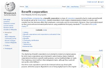http://en.wikipedia.org/wiki/Benefit_corporation