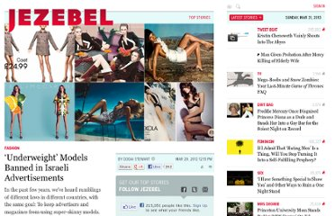 http://jezebel.com/5894826/underweight-models-banned-in-israeli-advertisements
