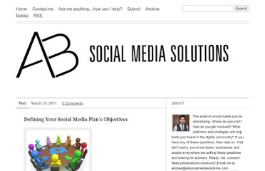 http://absocialmediasolutions.com/post/4039099213/defining-your-social-media-plans-objectives