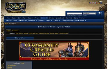http://lorebook.lotro.com/wiki/Quick_Guide_to_the_Inn_League_Reputation