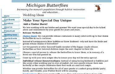 http://michiganbutterflies.com/index_files/Weddings.htm
