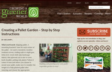 http://www.growingagreenerworld.com/creating-a-pallet-garden-step-by-step-instructions/