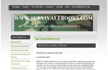 http://www.survivalebooks.com//PROTECTING_YOURSELF_FROM_EMP.html
