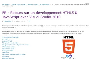 http://blogs.msdn.com/b/eternalcoding/archive/2011/07/13/retours-sur-un-d-233-veloppement-html5-amp-javascript.aspx