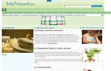 http://www.infonaturel.ca/Aromatherapie/Index.aspx