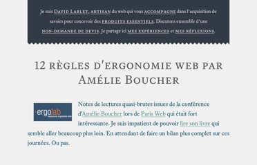 https://larlet.fr/david/biologeek/archives/20071117-12-regles-d-ergonomie-web-par-amelie-boucher/