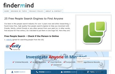 http://www.findermind.com/free-people-search-engines/