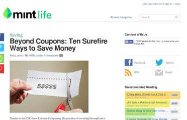 http://www.mint.com/blog/saving/beyond-coupons-ten-surefire-ways-to-save-money/