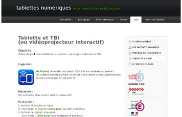 http://www.ac-grenoble.fr/tablettes/aide/TBI/index.html