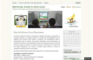 http://softwarelivrenaeducacao.wordpress.com/softwares-livres-educacionais/