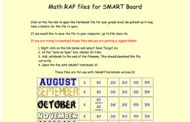 http://www.cobbk12.org/sites/literacy/math/smartrap/rapindex.htm