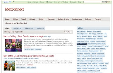 http://www.mexconnect.com/tags/day-of-the-dead