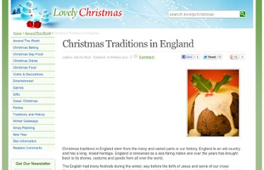 http://www.lovelychristmas.co.uk/englishchristmastraditions.html