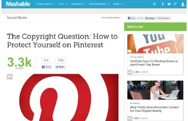 http://mashable.com/2012/03/21/pinterest-copyright-legal-issues/